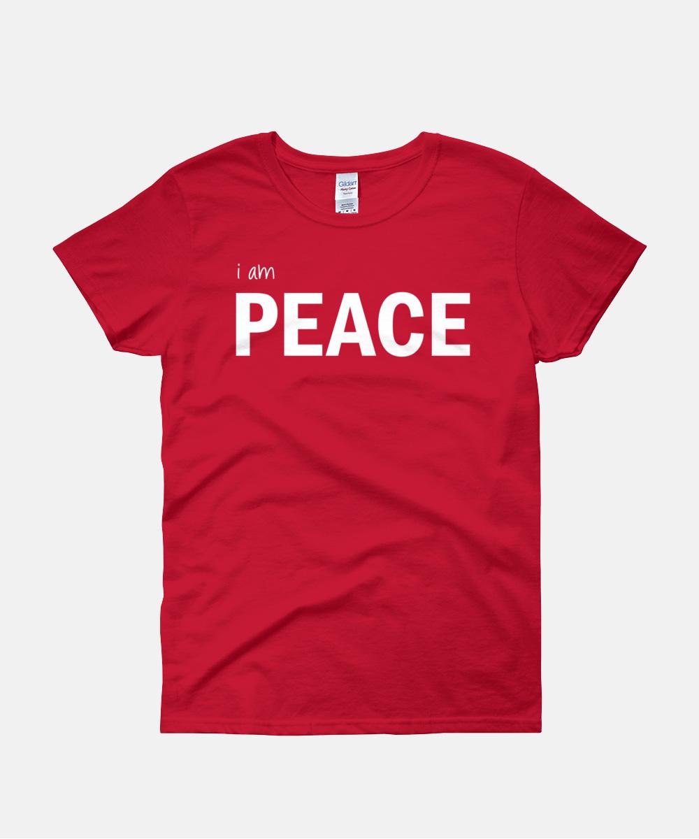 I am Peace Women T-Shirt