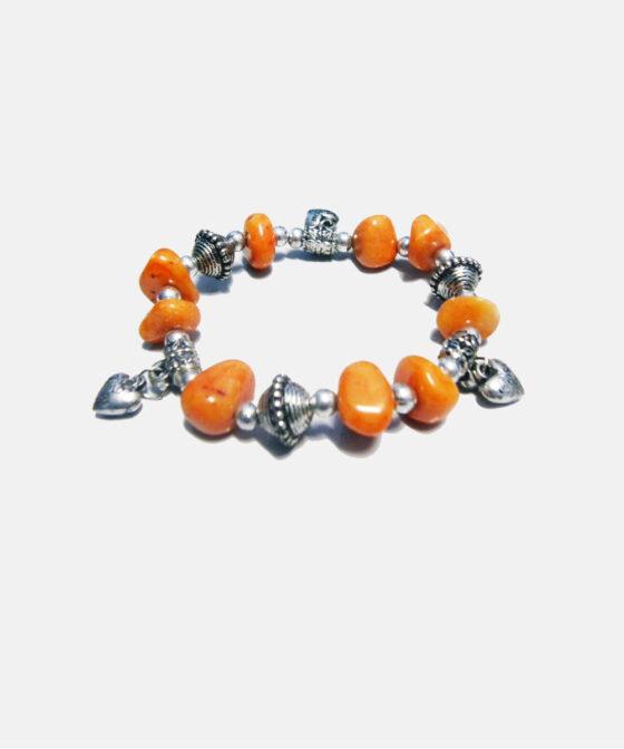 Amethyst Charm Bracelet Healing for Women