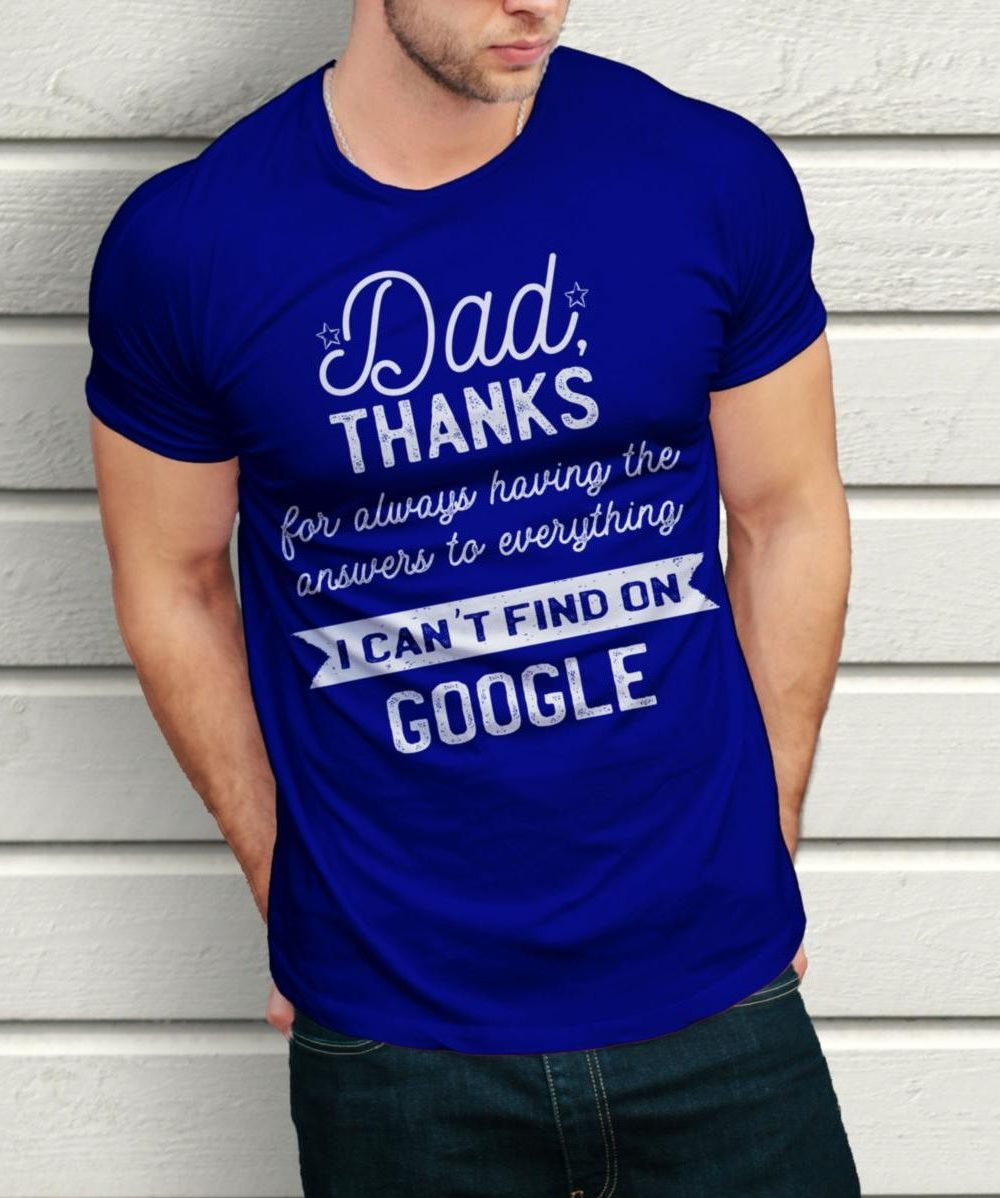 Dad Appreciation T-Shirt Father's Day Gifts